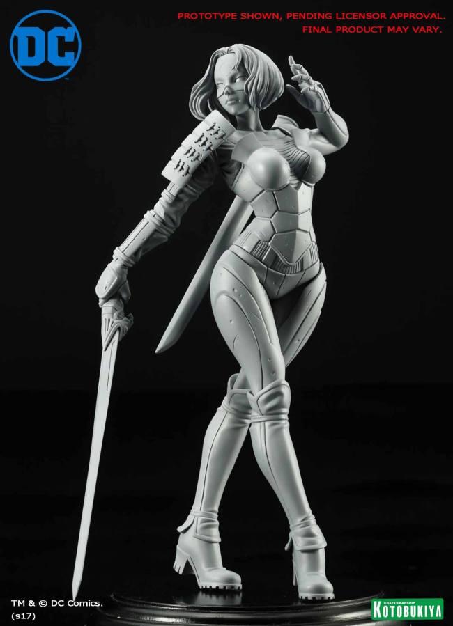 DC Comics Katana Bishoujo Statue Preview Kotobukiya