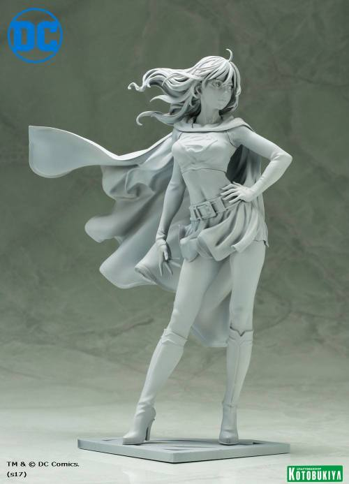 Unpainted Sculpt Supergirl Version 2 Bishoujo Statue Kotobukiya DC Comics