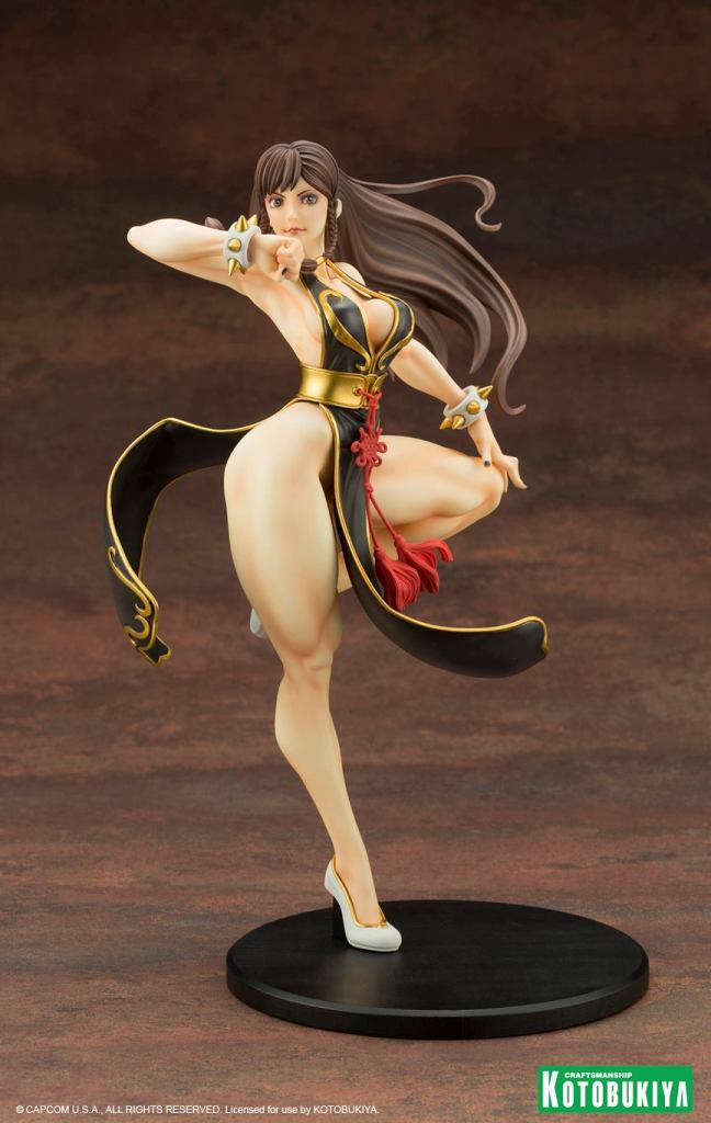 Street Fighter Chun-Li Battle Costume Bishoujo Statue Kotobukiya