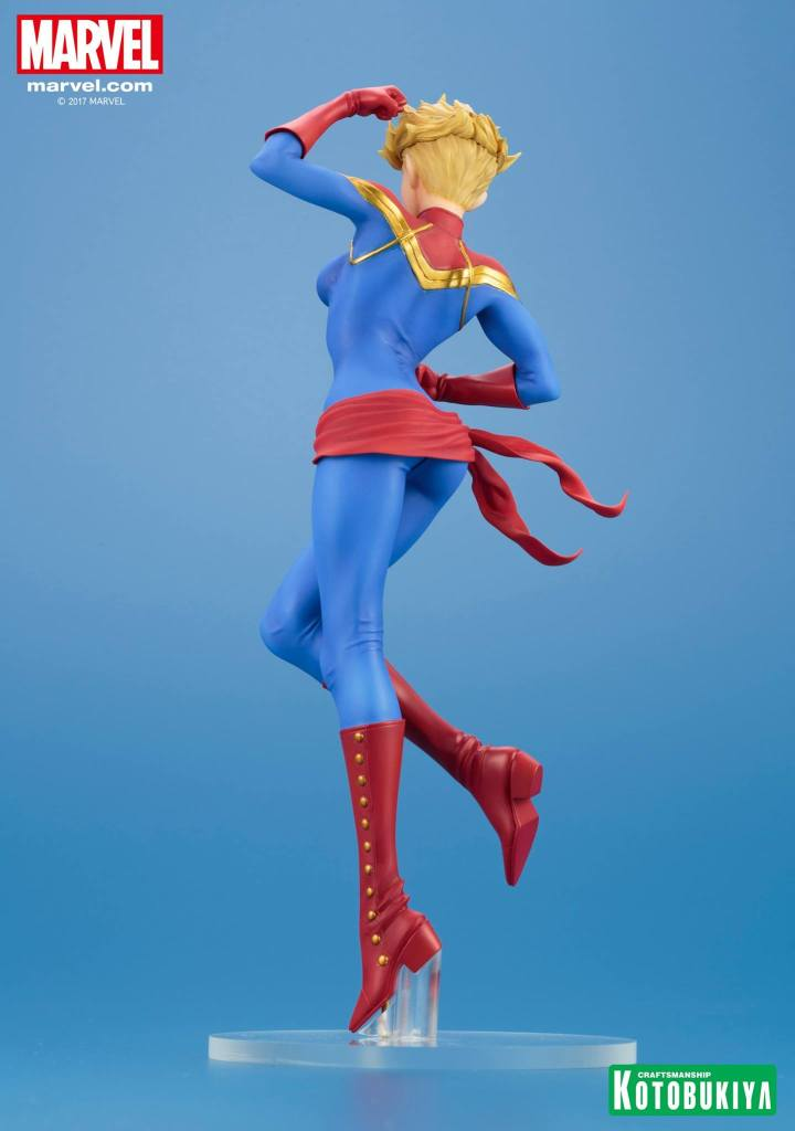 Captain Marvel bishoujo statue Kotobukiya