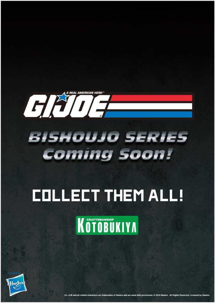 G.I. Joe Bishoujo Statue Series Announcement Kotobukiya Hasbro