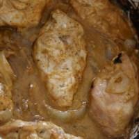 חזה עוף בחרדל בסיר לבישול איטי