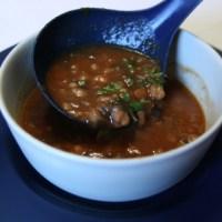 מרק שעועית נהדר בסיר לבישול איטי