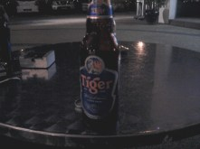 First beer in Malaysia - Tiger (made in Singapore).