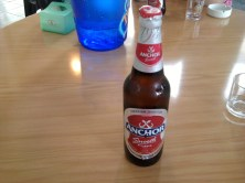 Anchor beer.