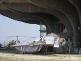 Wreckage of a MiG-29 Fulcrum.