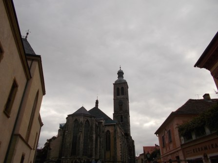 St. James church in Kutná Hora.