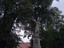 A statue in Kutná Hora.
