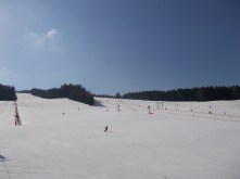 Perfect conditions at Stuhleck in mid-March.