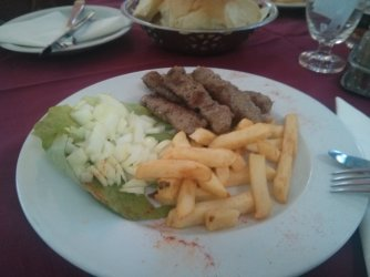 Ćevapi, again. :)