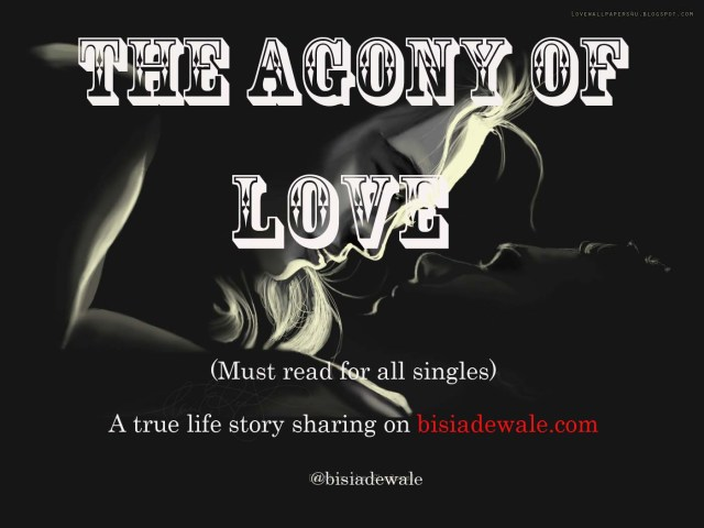 THE AGONY OF LOVE-Episode 2