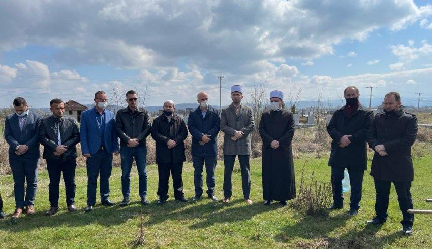 """Vihet gurthemeli për ndërtimin e """"Xhamisë së Re"""" në fshatin Gaçkë të Ferizajt"""