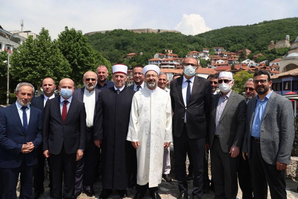 Një delegacion nga Diyaneti i Turqisë po qëndron në Kosovë