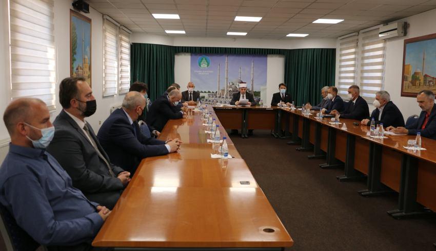 Kryesia e BIK-ut mbanë mbledhje të jashtëzakonshme me rastin e kalimit në botën tjetër të ish myftiut të Kosovës, Dr. Rexhep Bojës