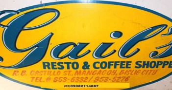 Gail's Resto and Coffee Shoppe in Bislig City