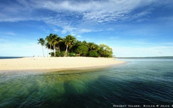 Hagonoy Island in Bislig City