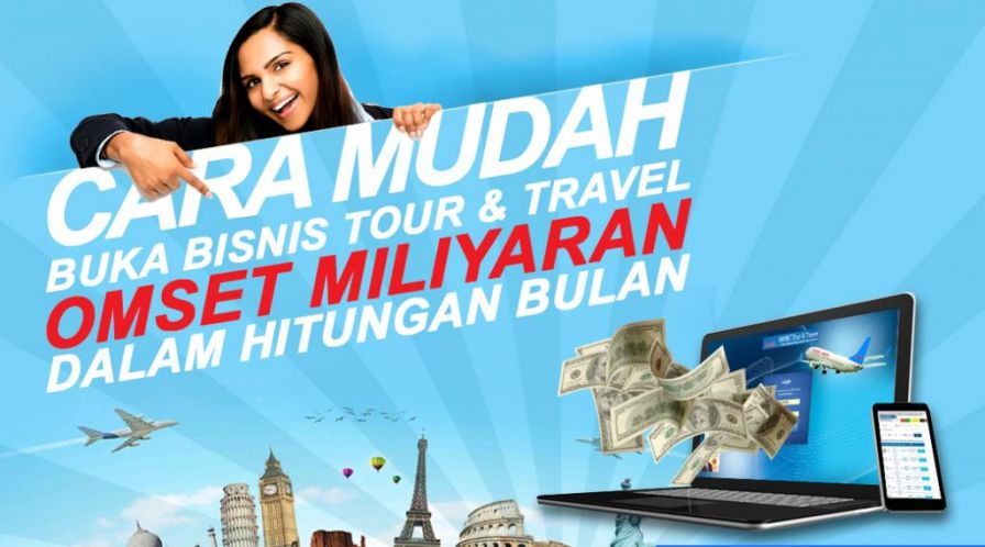 Bisnis Travel Agent model Traveloka di Tapak Tuan