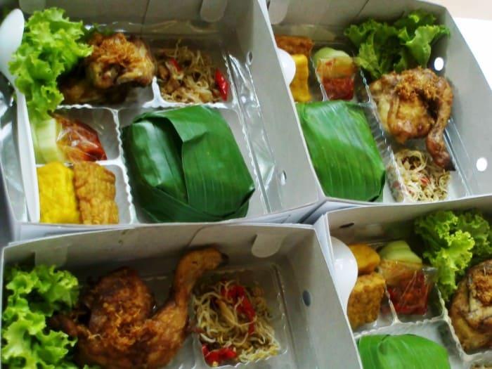 usaha catering box dengan menu nasi kotak harga 20000