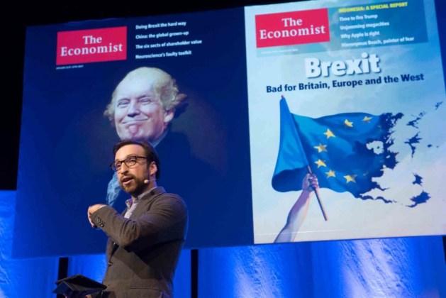 Tidskriftsdagen Robin Raven, The Economist