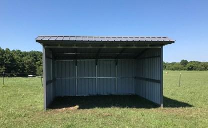 12x16 Horse Shelter