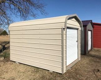 8x12 All Metal Standard Shed.
