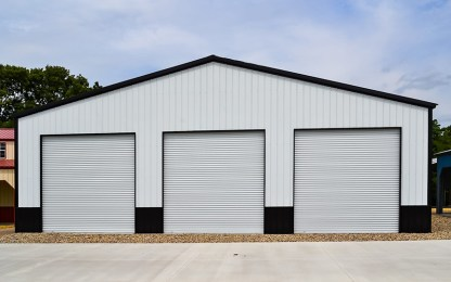 Commercial Style Truss Building