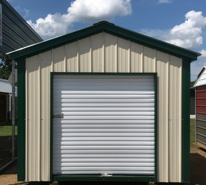 10x12 All Vertical Utility Shed.