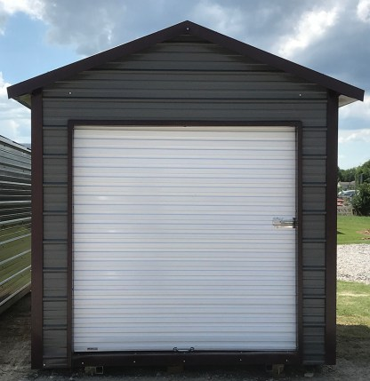 8x12 Boxed Eave Utility Shed