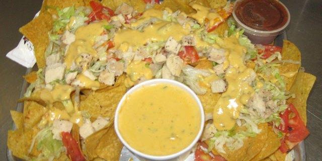 Chicken Cheese Nachos