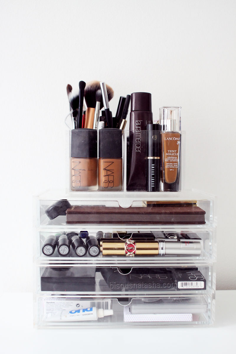 How To Organize Your Makeup  Bisous Natasha
