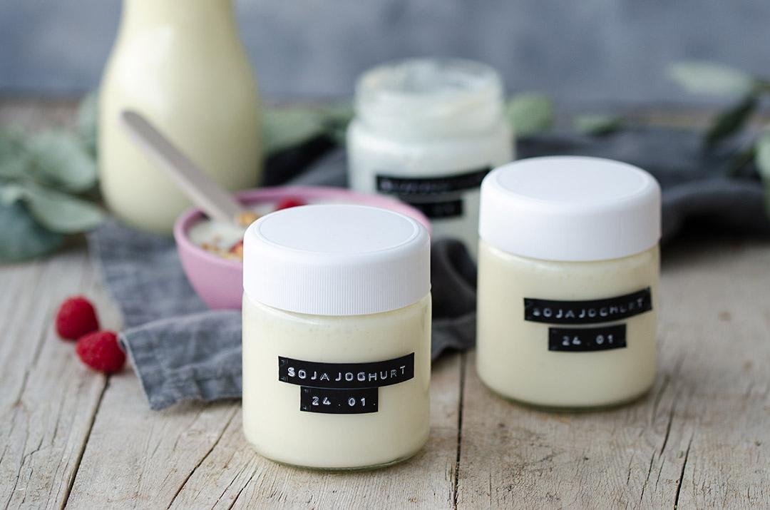 Veganes Joghurt selber machen