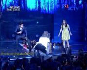 Foto Romantis Aliando dan Prilly GGS LIVE SCTV-2
