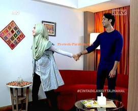 Romantis Shaheer Syeikh dan Nabila Syakieb Cinta Di Langit Taj Mahal