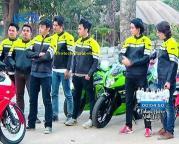 Foto Geng Motor Serigala Anak Jalanan