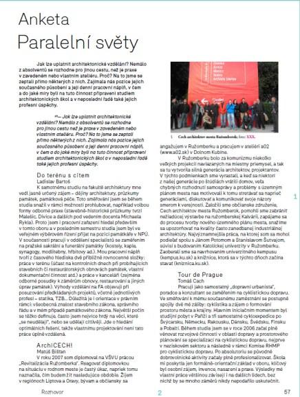 ERA21 04/2011 Začátky v architektuře – Paralelní světy