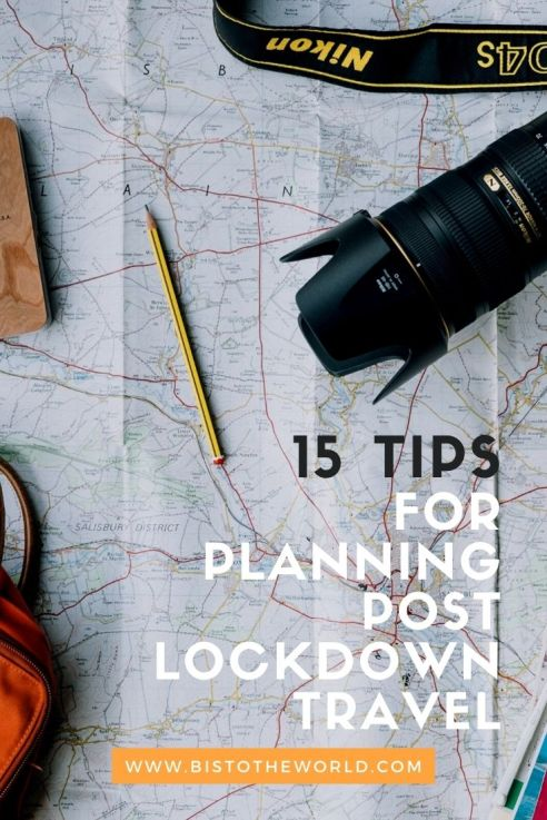 planning post lockdown travel