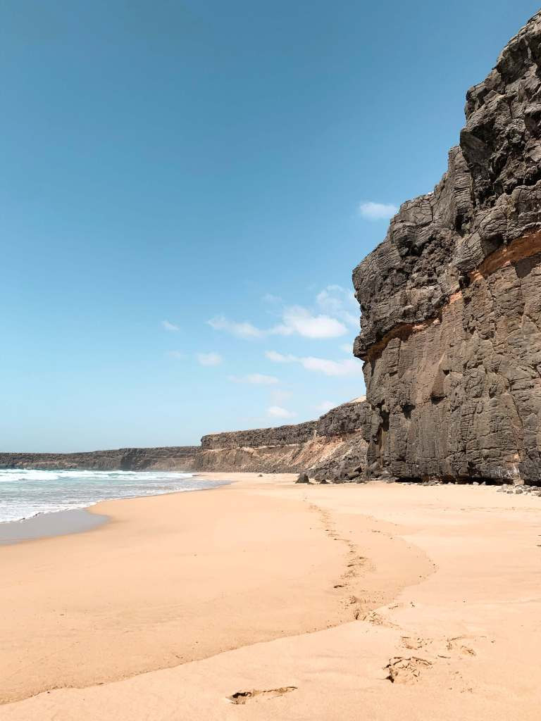 Off the beaten path - picture of Deserted golden sand beach