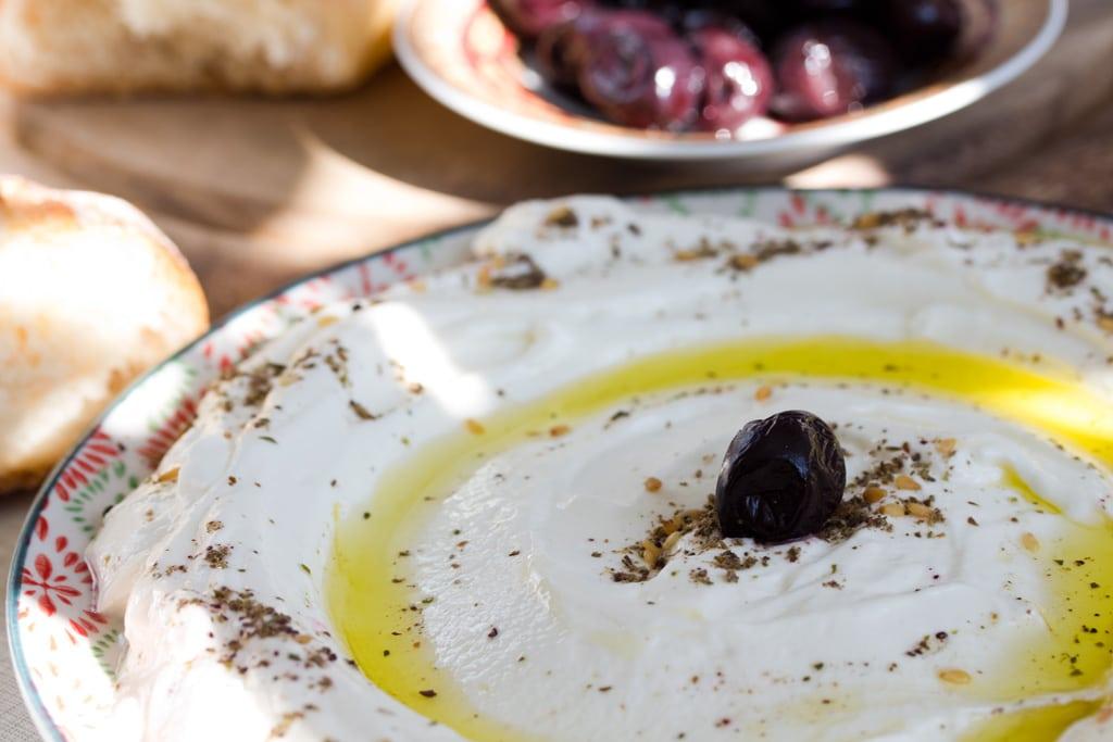Labneh - libanesischer Frischkäse