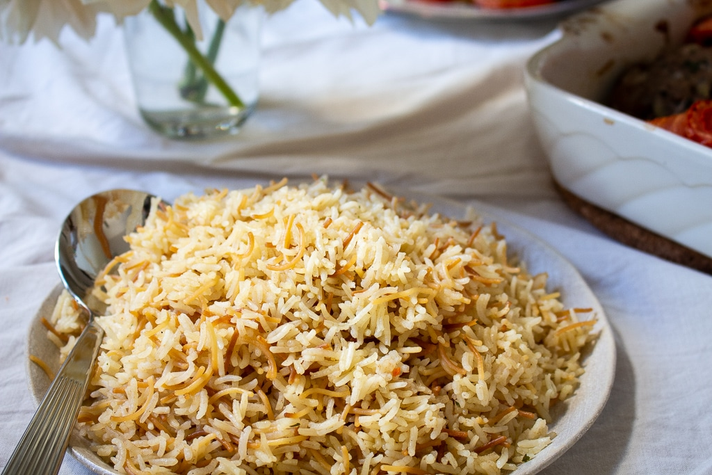 Lebanese Butter Rice
