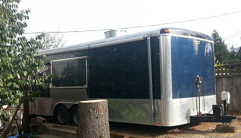 Bistro Breizh trailer, before.