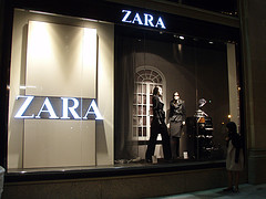 For the latest Euro Chic styles, try Spanish fashion retailer Zara.