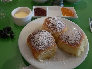 Brioche: Traditional breakfast treat for Italians.