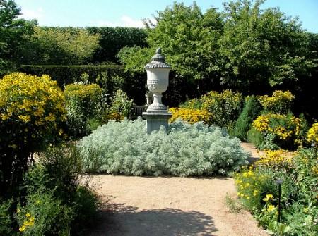An English garden...