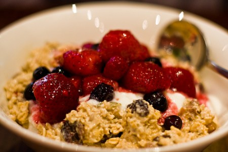Muesli is a delightful breakfast for many in Scandanavia.