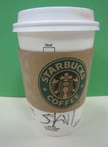 Skinny Vanilla Latte - hmmm...sooo....goood!