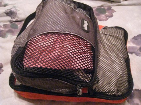 Packing cubes: Very handy for packing for any size trip.