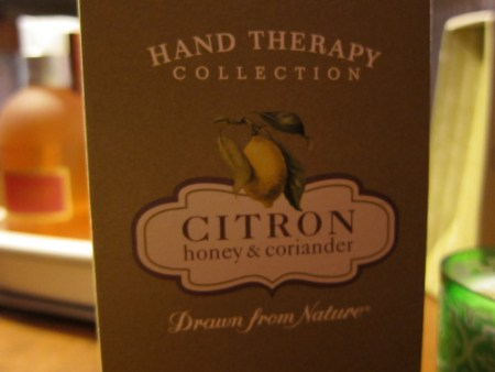 Crabtree & Evelyn Citron, Honey, and Coriander Hand Recovery