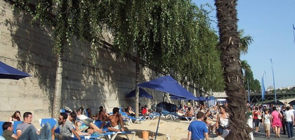 A Beach in the Heart of Paris