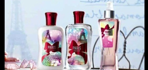 I Love Paris with Bath and Body Works