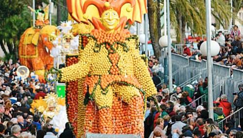 Festival of Lemons in France